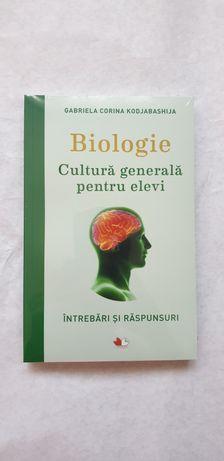 Culegere Biologie- Cultura generală pentru elevi