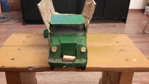 Макет на камион изработка картон пластмаса трески и др
