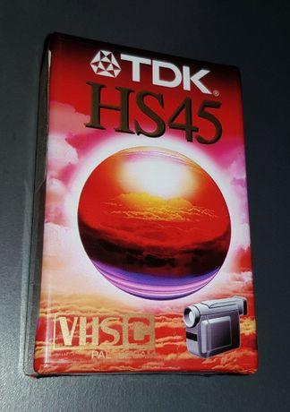 Caseta video VHSc TDK HS 45
