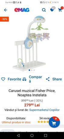 Carusel Fisher Price