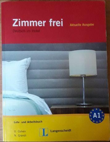 Комбиниран учебник с учебна тетрадка по немски език Zimmer frei A1
