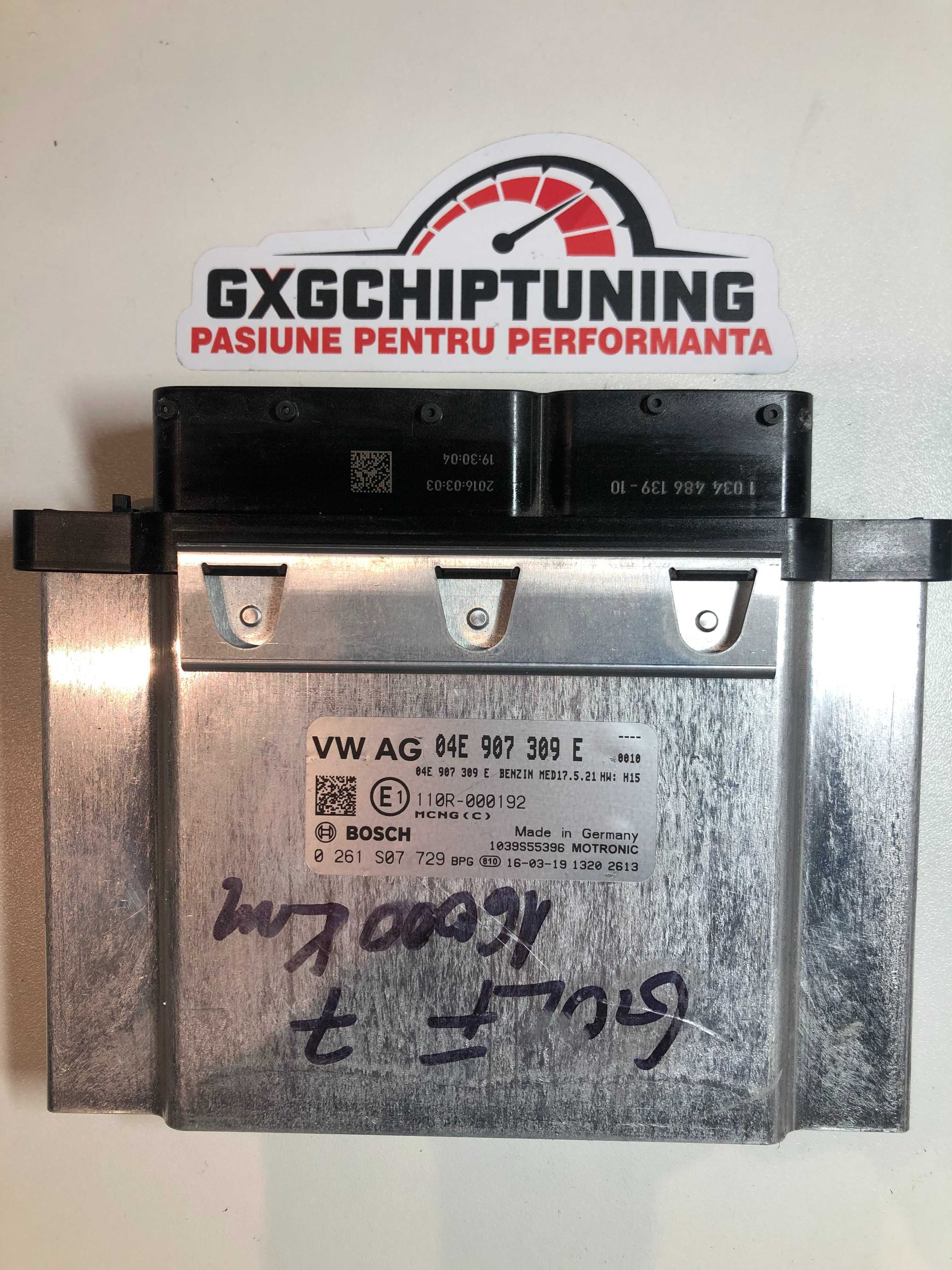 ECU Calculator motor VW Golf7 1.4tsi 04E907309E 0261S07729 MED17.5.21