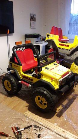 PEG PEREGO Grande Gaucho 12v Italia,jeep electric copii