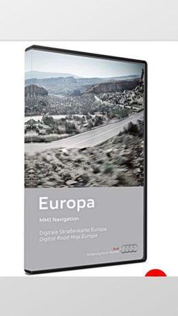 Harta navigatie Audi Full Europa 2014 MMI 3G A4 A5 A6 A7 Q5 Q7model B8