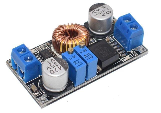 Понижающий DC-DC преобразователь с регулировкой напряжения и тока