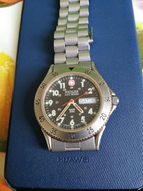 Ceas Wenger Watches Swiss Made Metal Case