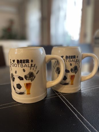 Кружки для пива 2 шт