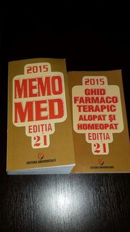 Memorie Med Ediția 21 +Ghid Farmaco Terapic Alopat și Homeopat