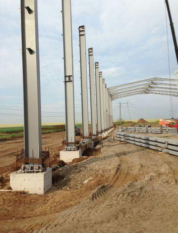 Vând diferite structuri hale ferme metalice