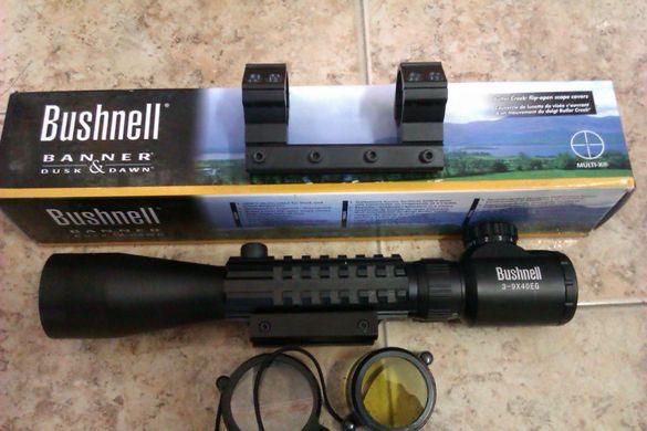 Оптически прицел,оптика Bushnell 3-9x40eg Нови
