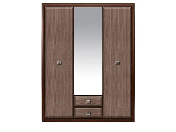 Шкаф для одежды 3Д , коллекции Коен МДФ, Штрокс Темный, БРВ Брест