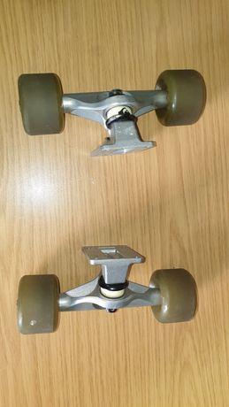 Accesorii skateboard longboard profesionale cu roti Mountain and wave
