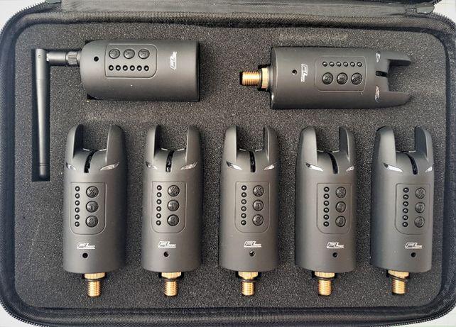STATIE Set 6 avertizoare wireless FL smart led + receptor model JY-39