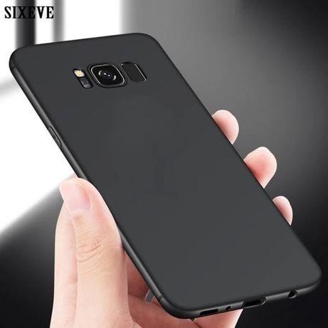 Тънък мат мек кейс калъф Samsung Galaxy S8 S9 S9+ NOTE 8 9