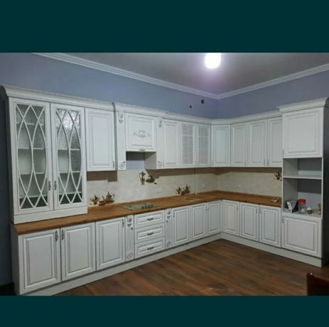 Кухонный Гарнитур Угловой Кухни Дкаф купе Духня Дизайн  Купить кухня