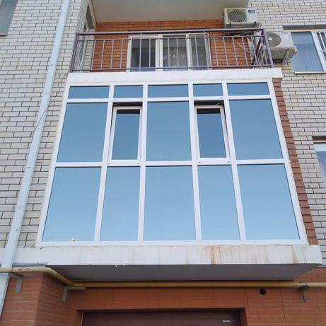 Пластиковые окна,балконы,витражи
