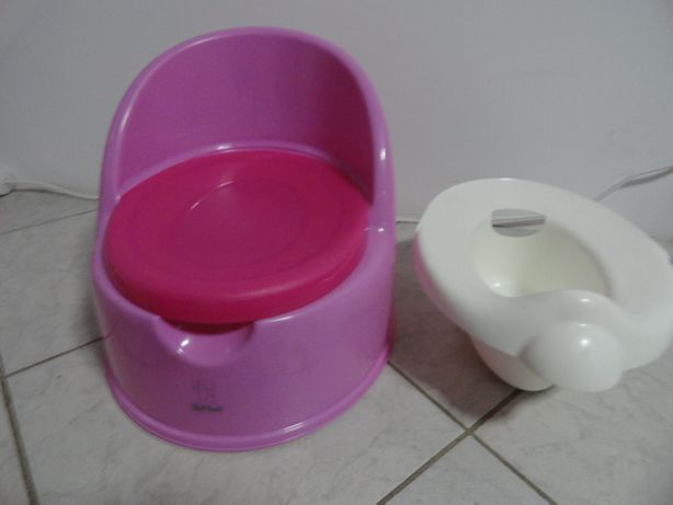 Olita bebe copii Tippitoes 2 in 1 ( olita si scaunel ) roz