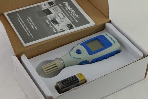 цифров термометър с влагомер /-10 °C + 50 °C/,нов, немски, PEAKTECH