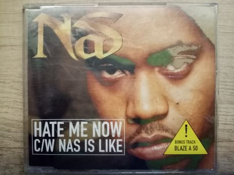 Nas - Hate Me Now / Nas Is Like (CD, Single)