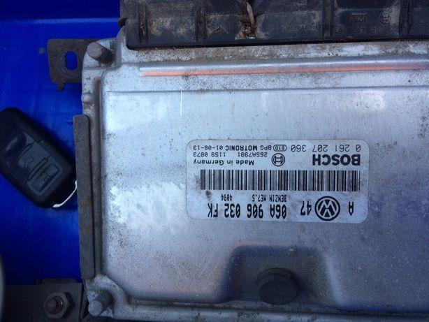 Kit pornire VW Golf 4 2.0 AZJ ECU ceasuri de bord cheie cu contact