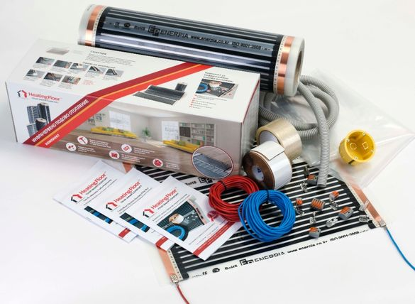 МАСТЕР Комплект за подово отопление, инфрачервено фолио 9 кв.м