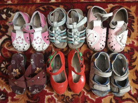 Пакет обуви с 23-25 размер для девочки