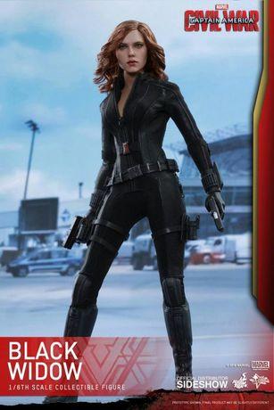 Figurina Articulata Hot Toys Black Widow 1/6 Caprain America Civil War