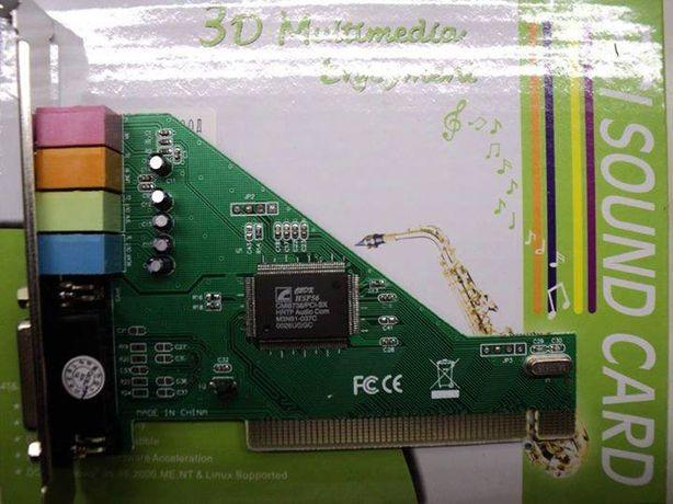 Placa de sunet PCI Produs NOU
