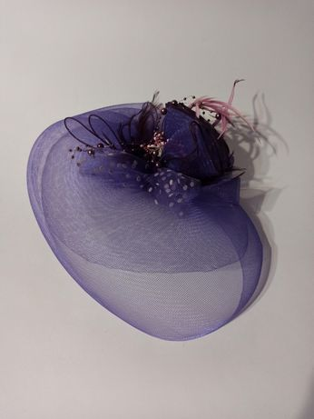 Шляпка-вуаль для торжества