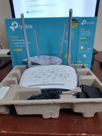 Продам WI-FI роутер с модемом ADSL2+ и портом USB
