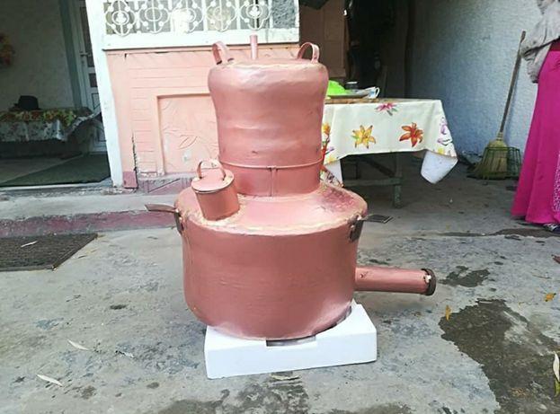 Vand urgent un cazan de facut tuica de 100 de litri cazanul are fundul