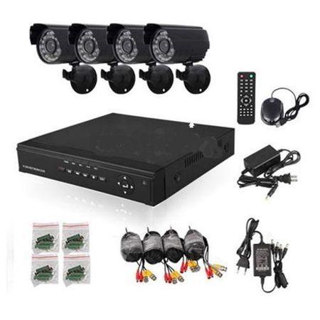 AHD 4 камери SONY DVR CCTV Комплект за видеонаблюдение охрана mi hdd