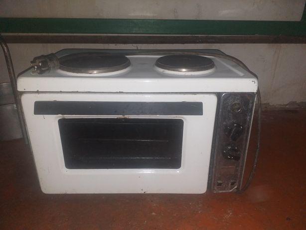 Электрическая духовка+электрические плиты 2 в 1