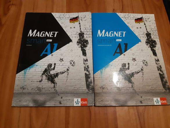Учебник и учебна тетрадка по немски +cd