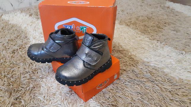 Осенние ботинки для девочки.
