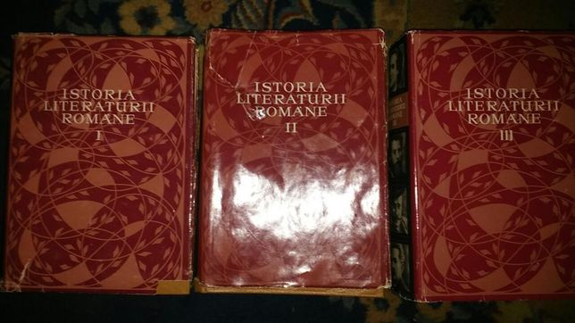 Istoria literaturii romane vol 1-3