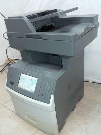Лазерен принтер скенер и копир Lexmark x652de
