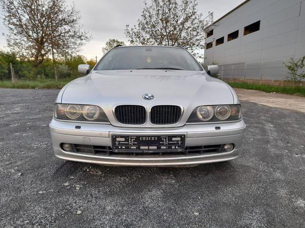 Capotă față, bară față cusenzori și spălător,far xenon BMW E39 seria 5
