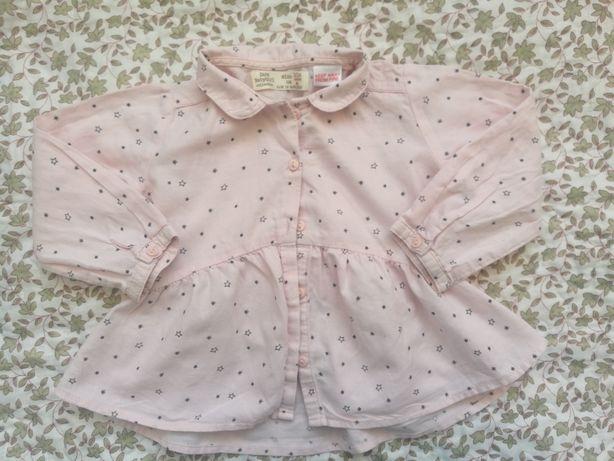 Camasa Zara,fetite,12-18 luni