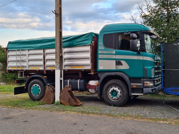 Autoutilitara basculanta marca Scania