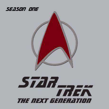 Star Trek Next Generation sezon 1 format DVD