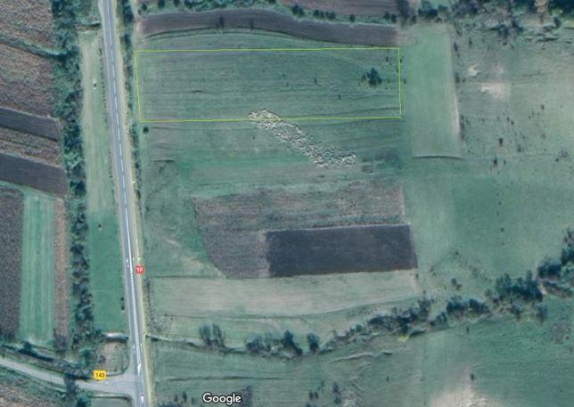 Vand teren Sardu, com Sanpaul, 20km de Cluj, front E81 / 1F