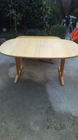 Masa din lemn masiv extensibila