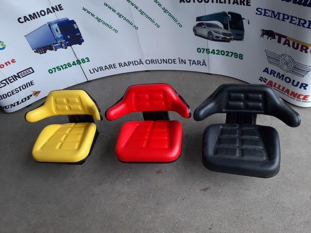 Scaune tractor noi cu reglaj fata / spate 2 arcuri de suspensie scaun