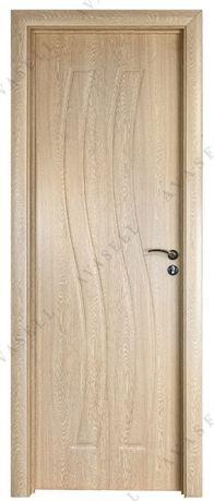 Евтина интериорна врата от МДФ, цвят Светъл Дъб; Изгодни в Промоция !