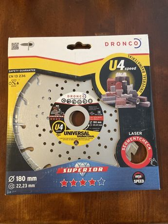 Disc diamantat segmentat Dronco Superior U4 protect
