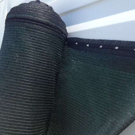Plasa verde 1,5x50 m umbrire 90% ideala pentru gard