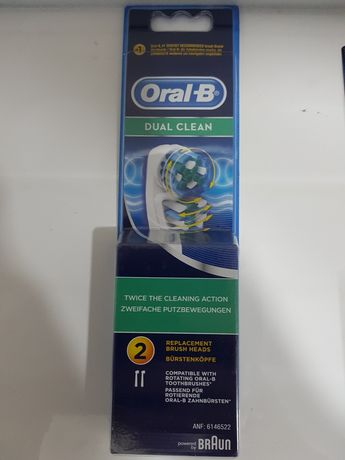 Rezerve periuta Oral B originale Dual Clean, model nou