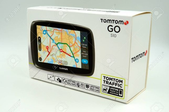 GPS TOM TOM GO (530) - Softari/resoftari, harti.