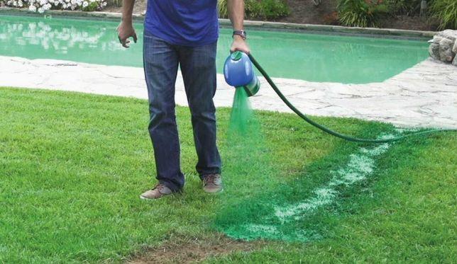 Жидкий газон Hydro Mousse Посадите сочный яркий газон всего за 1 час!